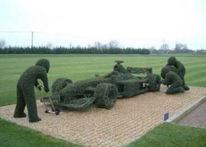 peter donegan landscaping topiary