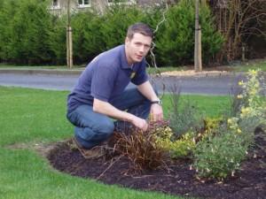 peter donegan garden designer in 2002