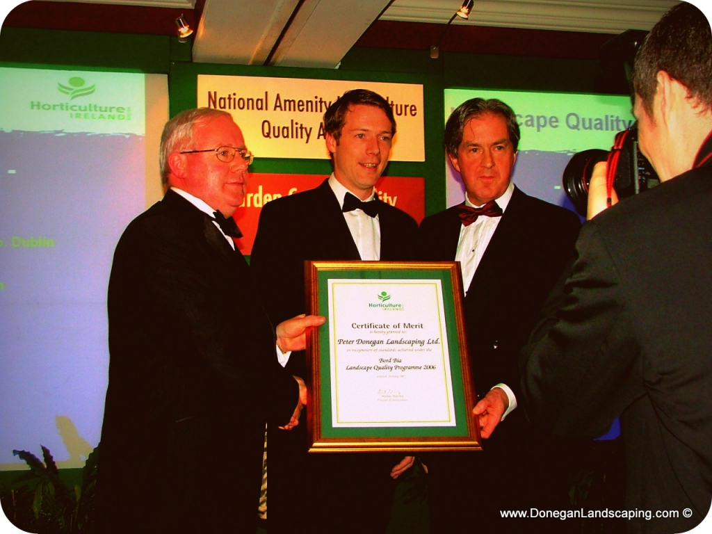 peter donegan, landscaping dublin, garden awards ireland