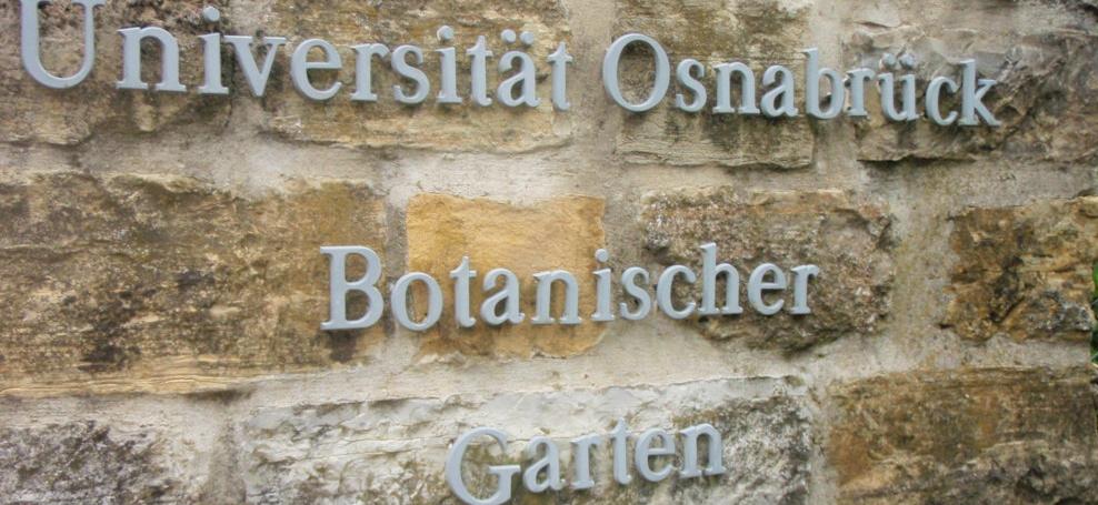 Garten Osnabrück osnabruck botanischer garten universitat donegan landscaping