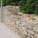 gabion walls for root support