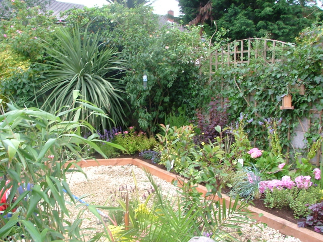 Garden Ideas For Small Gardens. small-garden-ideas plants