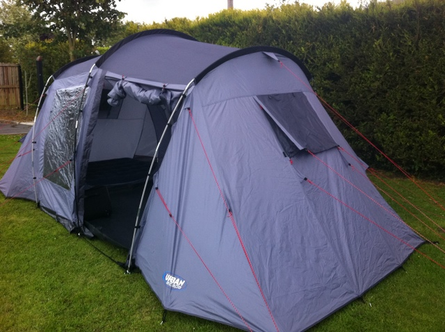 halfords urban escape & Halfords Urban Escape 4 Man Tent Pack u2013 Peter Donegan Landscaping ...