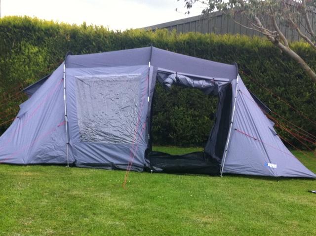 halfords urban escape & Halfords Urban Escape 4 Man Tent Pack u2013 Peter Donegan Landscaping ...