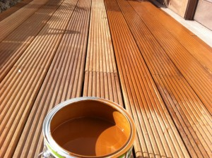 hardwood decking oil