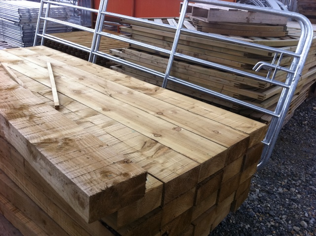 timber for landscaping