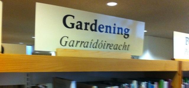 fingal libraries garden class books