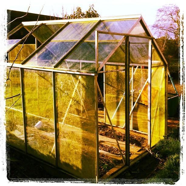 old glasshouse