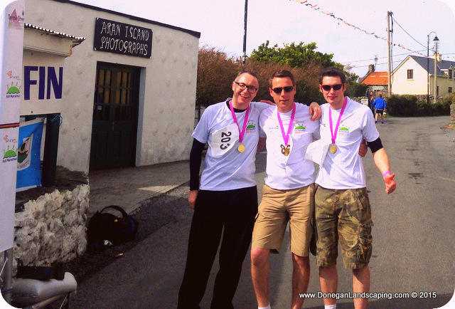 tom clements, peter donegan, sean conville, inis mor temple street 2015