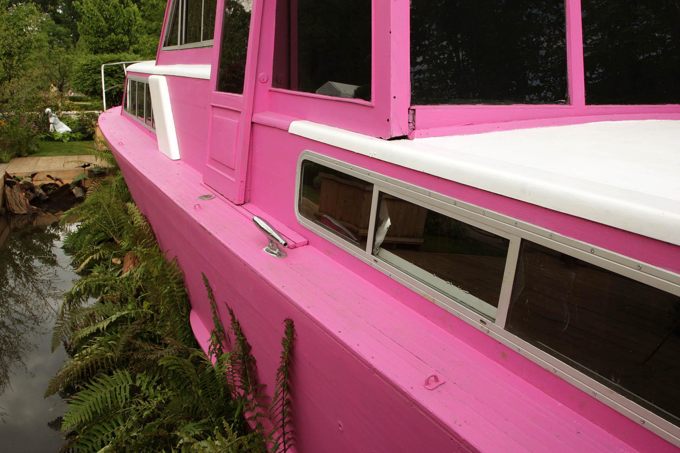peter donegan pink boat free