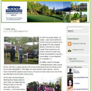 peter donegan landscaping weblog