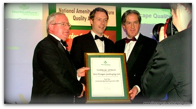 peter donegan dublin landscaping awards