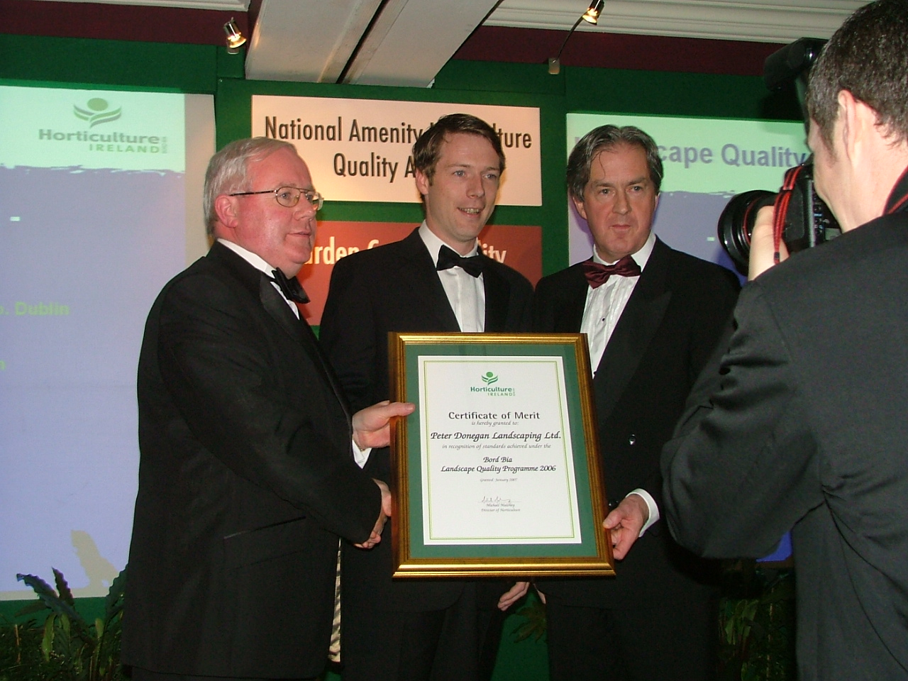 Noel Smith, Peter Donegan & Aidan Cotter