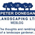 donegan landscaping twitter logo