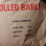 feed for hens barley