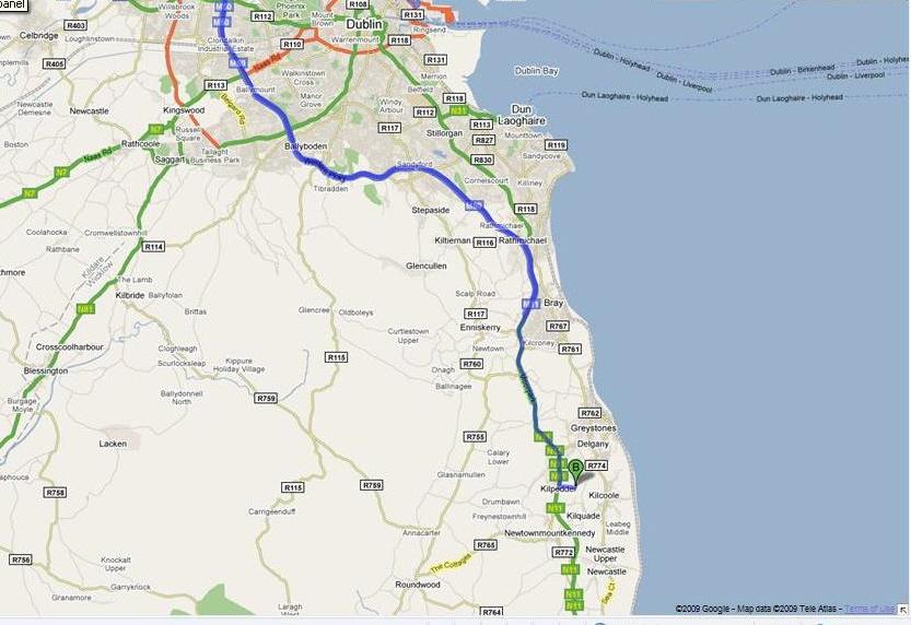 map to garden exhibition centre