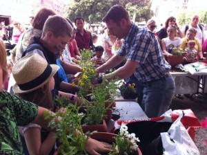 garden demonstration dublin