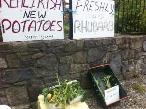 fruit vegetable selling