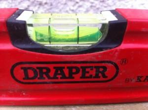 draper spirit level