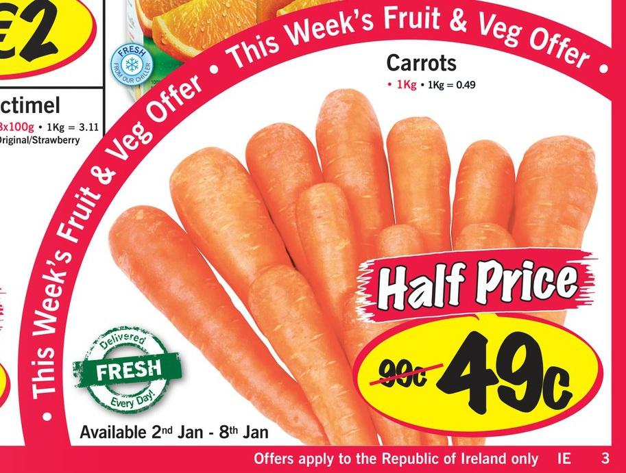 lidl carrots