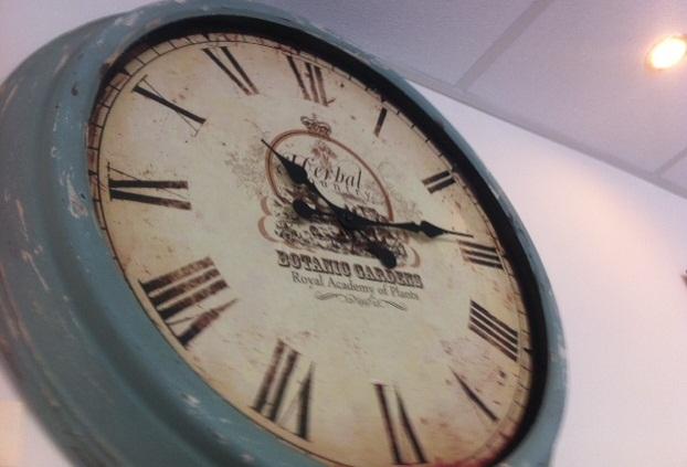 botanic garden clock