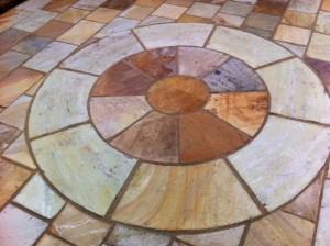 sandstone circle