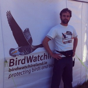 jamie durrant, birdwatch ireland