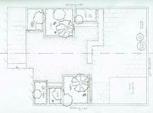 garden design sketch