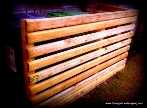 timber bin screen