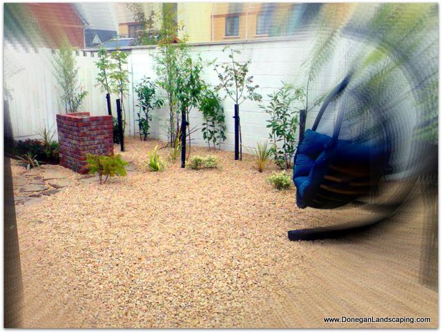 back garden, landscaping dublin