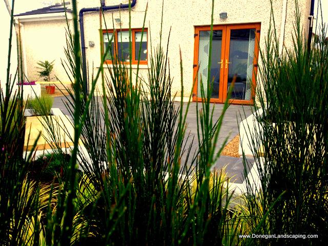 small garden, landscaping ireland
