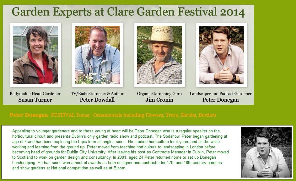 clare garden festival, peter donegan