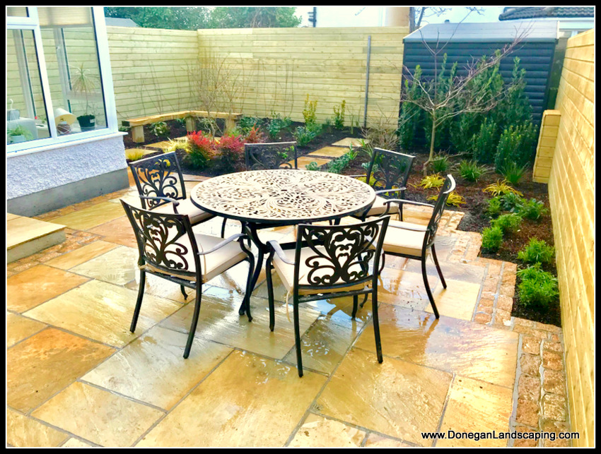 Back Garden Redesign, Dublin - Peter Donegan Landscaping ...