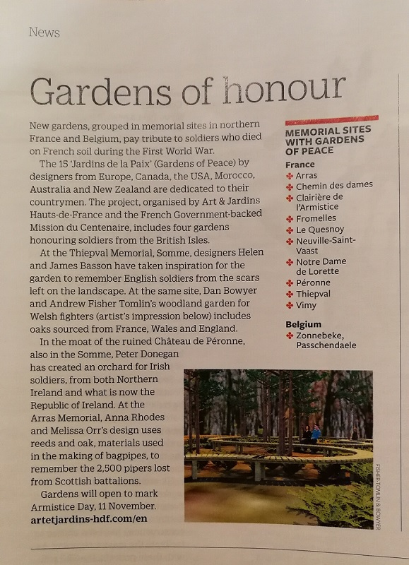 The RHS, Garden Magazine – Jardin de la Paix, France – Peter ...