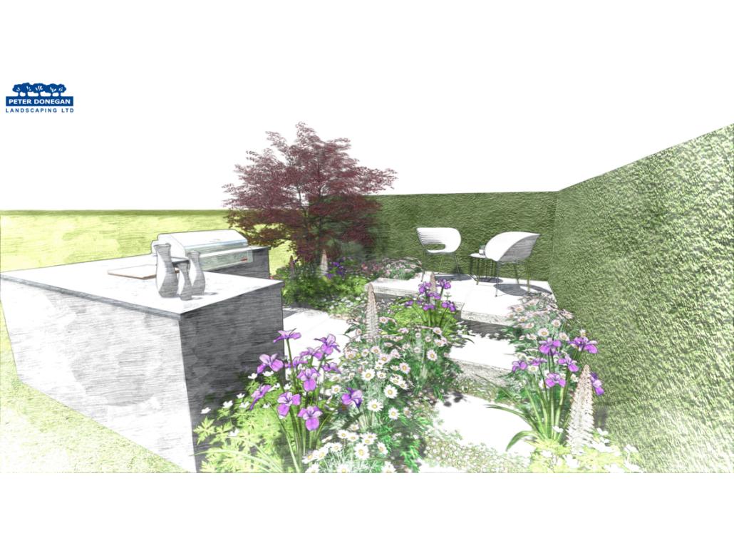 RHS Flower Show, Perennial Garden, 2019