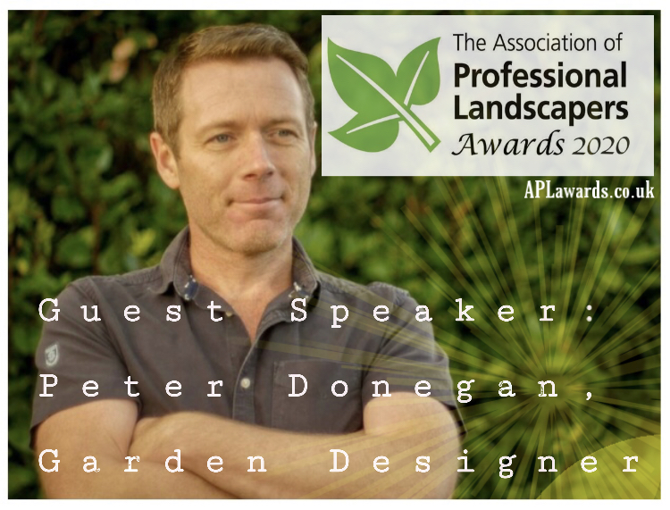 peter donegan, apl landscape awards uk, garden speaker