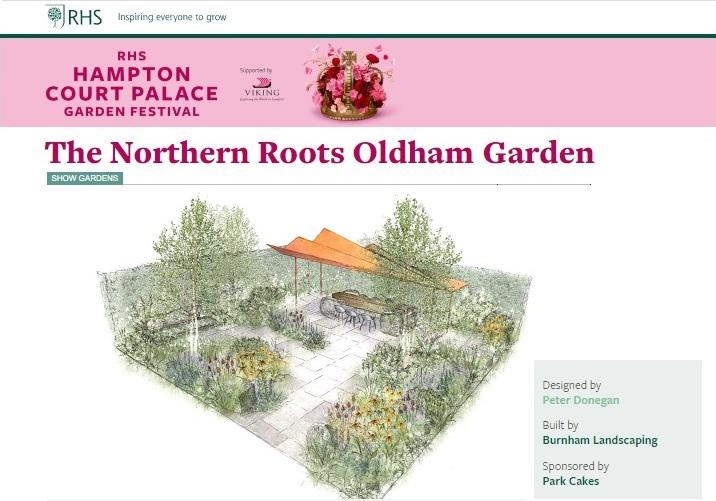 rhs hampton 2020, show garden