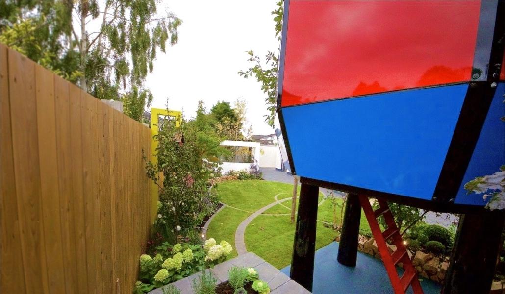 garden design, rte diy sos, rocket ship garden
