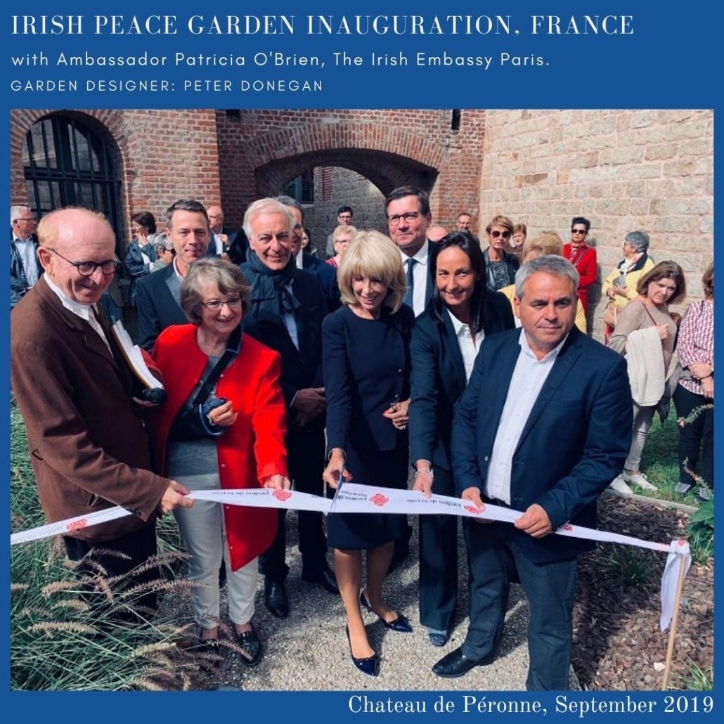 irish peace garden france